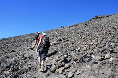 Ersteigung des Mt. Ngauruhoe