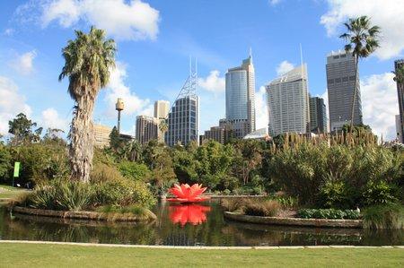 botanischer garten Sydney