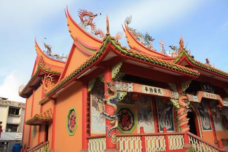 chinesischer Tempel auf Sabah