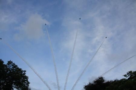 Militärparade in Singapur