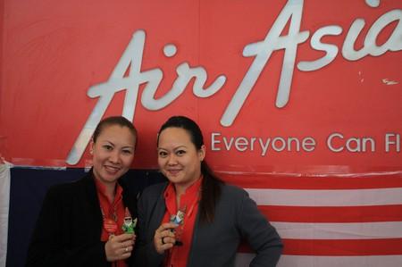 Die Damen bei AirAsia