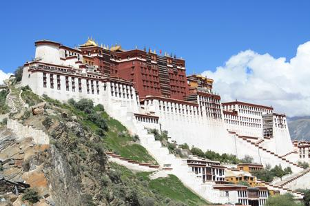 Potala in Lhasa