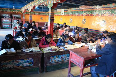 Ausbildung zum tibetischen Arzt