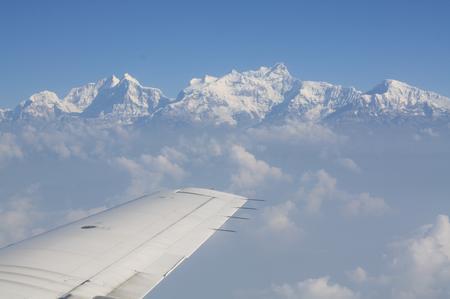 Flug nach Pokhara