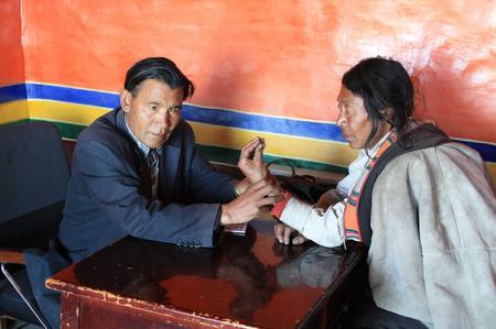 Krankenhaus in Tibet