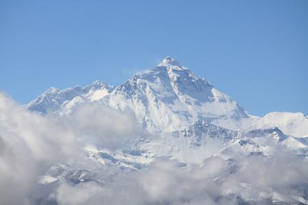 Mt. Everest und Mt. Lhotse