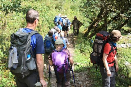 Reisegruppe Annapurna