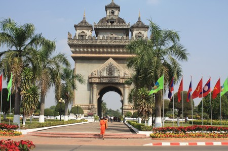 triumphbogen von Vientiane