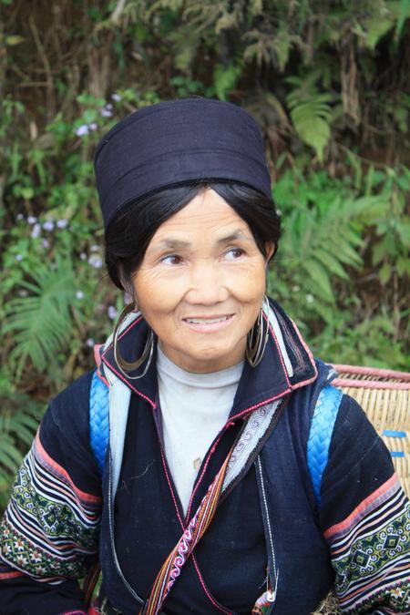 Frau im Vietnam
