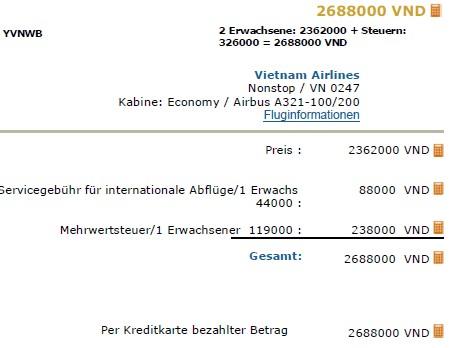 preise-vietnam-airlines