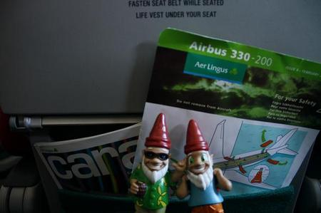 Gnomads bei Aer Lingus