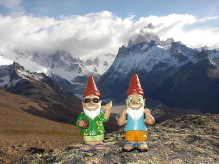 Gnomads in Patagonien