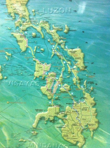 Cebu Streckennetz